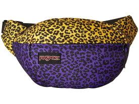 ジャンスポーツ メンズ ボディバッグ・ウエストポーチ バッグ Fifth Avenue Purple Leopard Life