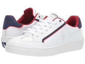 スケッチャーズ レディース スニーカー シューズ Goldie - Soft Line White/Red/Navy
