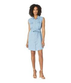 ヴィンスカムート レディース ワンピース トップス Sleeveless Two-Pocket Tie Waist Lyocell Shirtdress Bayside Wash