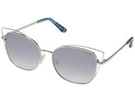 ゲス レディース サングラス・アイウェア アクセサリー GU7528 Shiny Light Nickeltin/Blue Mirror