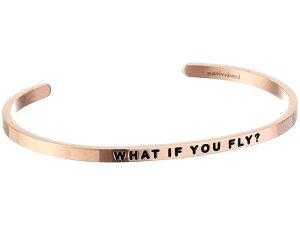 マントラバンド メンズ ブレスレット・バングル・アンクレット アクセサリー What If You Fly Cuff Rose Gold