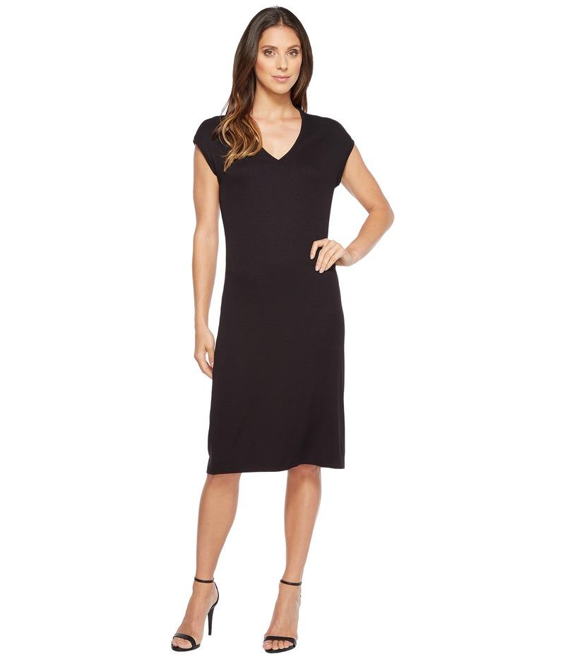 イヴァンカ・トランプ レディース ワンピース トップス Short Sleeve Knit Dress Black