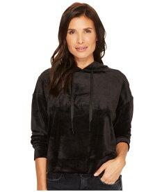 サンクチュアリー レディース パーカー・スウェット アウター Melrose Brigade Velour Hoodie Sweatshirt Black