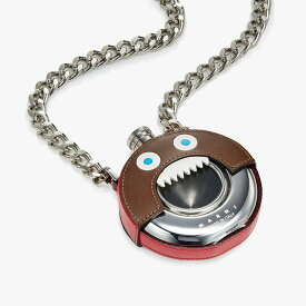マルニ メンズ ネックレス・チョーカー・ペンダントトップ アクセサリー Monster Necklace Flask Raw Sienna