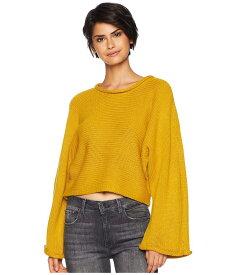 ビービーダコタ レディース ニット・セーター アウター BB Talk Jersey Stitch Cropped Sweater Marigold