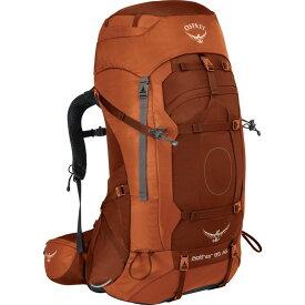 オスプレー メンズ バックパック・リュックサック バッグ Aether AG 85 Hiking Pack Outback Orange LG