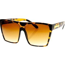エスダブリュグローバル メンズ サングラス・アイウェア アクセサリー Bobby Square Fashion Sunglasses Leopard