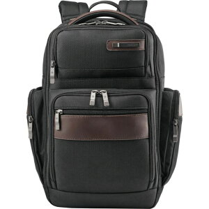 サムソナイト メンズ スーツケース バッグ Kombi 4 Square Laptop Backpack Black/Brown