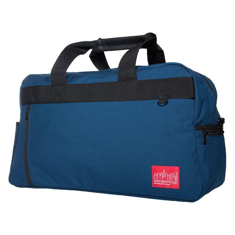 マンハッタンポーテージ メンズ スーツケース バッグ Duffel Bag Featuring CORDURA Brand Fabric Navy