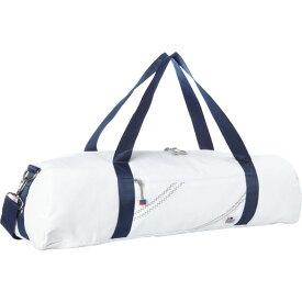 セイラーバッグ メンズ ボストンバッグ バッグ Chesapeake Yoga Bag White with Blue Trim