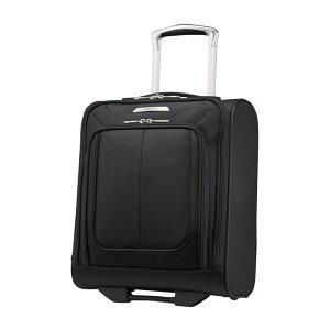 サムソナイト メンズ スーツケース バッグ SoLyte DLX Underseat Wheeled Carry-On with USB Port Midnight Black
