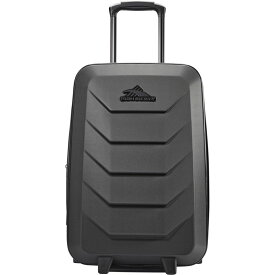 ハイシエラ メンズ スーツケース バッグ OTC 22 Expandable Hardside Wheeled Upright Carry-On Black/Black/Black