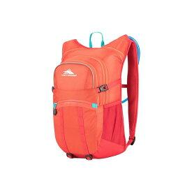 ハイシエラ メンズ バックパック・リュックサック バッグ Hydrahike 20L Hydration Pack Redline/Crimson/Turquoise