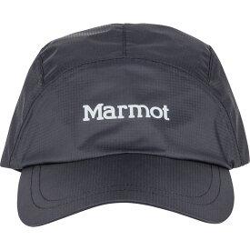 マーモット メンズ 帽子 アクセサリー PreCip Eco Baseball Cap One Size - Black
