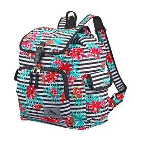 ハイシエラ メンズ バックパック・リュックサック バッグ Elly Backpack Tropical Stripe/Black
