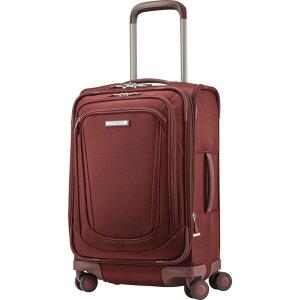 サムソナイト メンズ スーツケース バッグ Silhouette 16 Expandable Spinner Carry On Cabernet Red