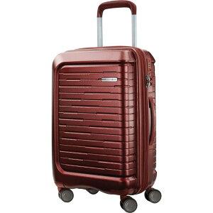 """サムソナイト メンズ スーツケース バッグ Silhouette 16 20"""" Expandable Hardside Carry-On Spinner Cabernet Red"""