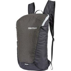 マーモット メンズ バックパック・リュックサック バッグ Kompressor Comet Packable Backpack Black/Slate Grey