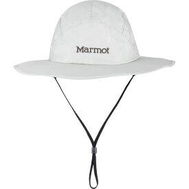 マーモット メンズ 帽子 アクセサリー PreCip Eco Safari Hat S/M - Platinum