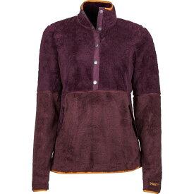 マーモット レディース ジャケット・ブルゾン アウター Womens Lariat LS Shirt XS - Dark Purple/Burgundy