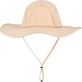 マーモット メンズ 帽子 アクセサリー Breeze Hat S/M - Desert Khaki