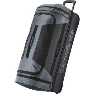 サムソナイト メンズ スーツケース バッグ Andante 2 32 Drop-Bottom Checked Wheeled Duffel Riverrock/Black
