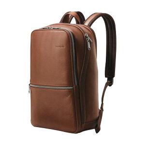 サムソナイト メンズ スーツケース バッグ Slim Laptop Backpack Cognac
