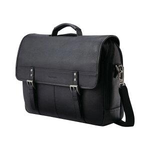 サムソナイト メンズ スーツケース バッグ Flapover Briefcase Black