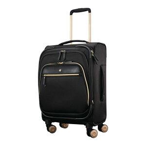 サムソナイト メンズ スーツケース バッグ Mobile Solution 19 Expandable Carry-On Spinner Black