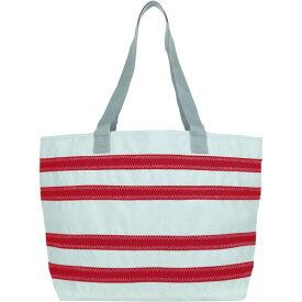 セイラーバッグ メンズ トートバッグ バッグ Nautical Stripe Large Tote White with Red Stripes