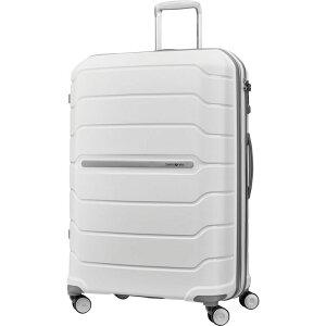 サムソナイト メンズ スーツケース バッグ Freeform 28 Hardside Spinner White