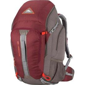 ハイシエラ メンズ バックパック・リュックサック バッグ Pathway 50L Hiking Pack Cranberry/Slate/Redrock