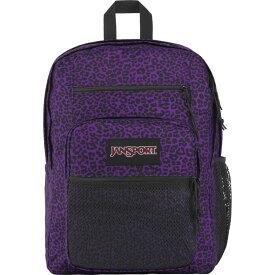ジャンスポーツ メンズ バックパック・リュックサック バッグ Big Campus Laptop Backpack-Sale Colors Purple Leopard Life