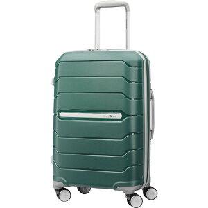 """サムソナイト メンズ スーツケース バッグ Freeform 21"""" Carry-On Hardside Spinner Sage Green"""
