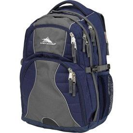 ハイシエラ メンズ バックパック・リュックサック バッグ Swerve Laptop Backpack - 15 True Navy/Mercury
