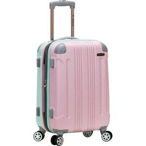 """ロックランド メンズ スーツケース バッグ Sonic 20"""" Hardside Spinner Carry-On Pink/Mint"""