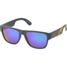 エスダブリュグローバル メンズ サングラス・アイウェア アクセサリー Bryson Square Fashion Sunglasses Green-Purple