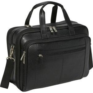 サムソナイト メンズ スーツケース バッグ Leather Checkpoint Friendly Brief Black