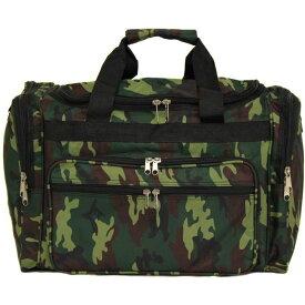 ワールドトラベラー メンズ スーツケース バッグ Camouflage 19 Shoulder Duffle Bag Green Camo