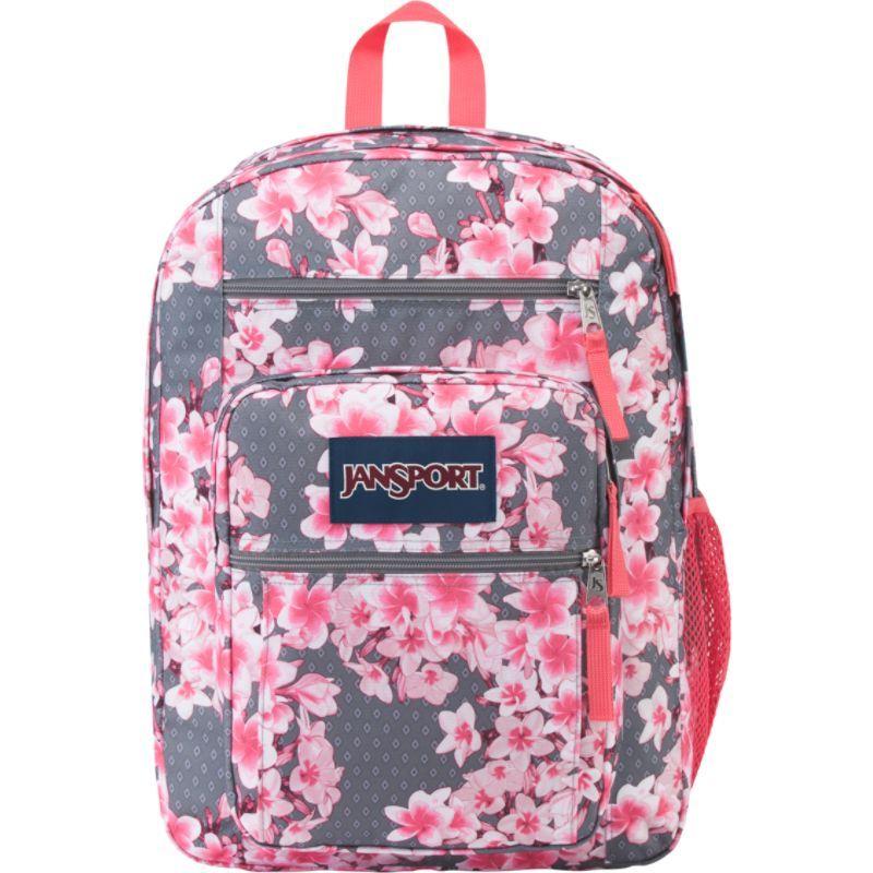 ジャンスポーツ メンズ バックパック・リュックサック バッグ Big Student Backpack - 17.5 Diamond Plumeria Pink