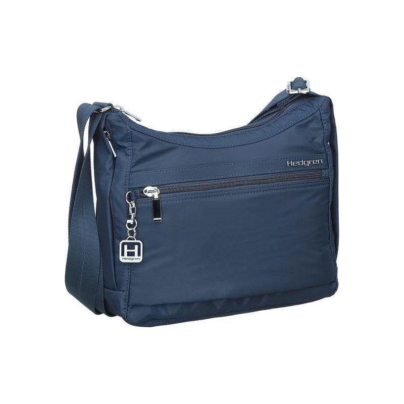 ヘドグレン メンズ ボディバッグ・ウエストポーチ バッグ Harper's S RFID Crossbody Bag 06 Version Dress Blue