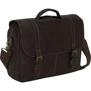 サムソナイト メンズ スーツケース バッグ Colombian Leather Flapover Laptop Case Brown