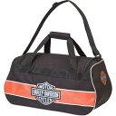 ハーレーダビッドソン メンズ ボストンバッグ バッグ Harley Davidson Logo Sport Duffel Rust/Black