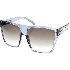 エスダブリュグローバル メンズ サングラス・アイウェア アクセサリー Bobby Square Fashion Sunglasses Grey