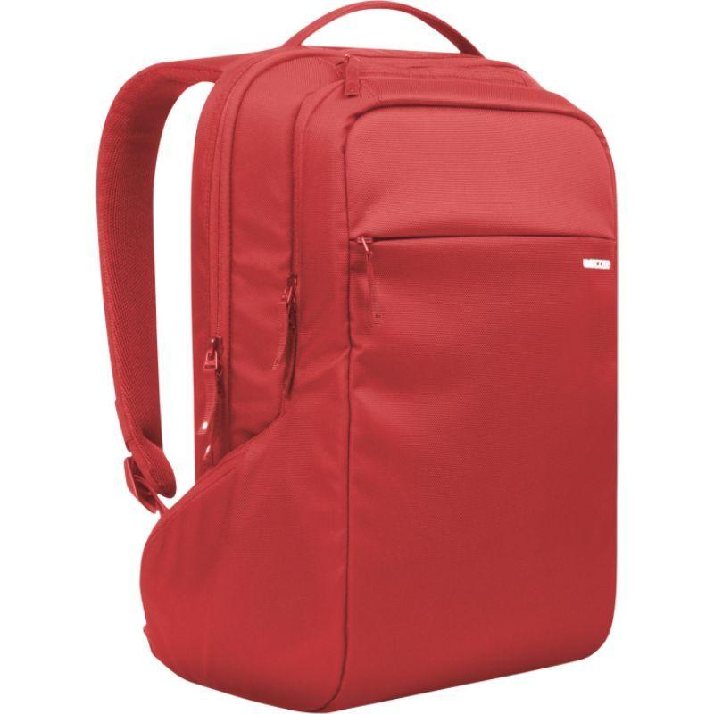 インケース メンズ スーツケース バッグ Icon Slim Laptop Backpack Red