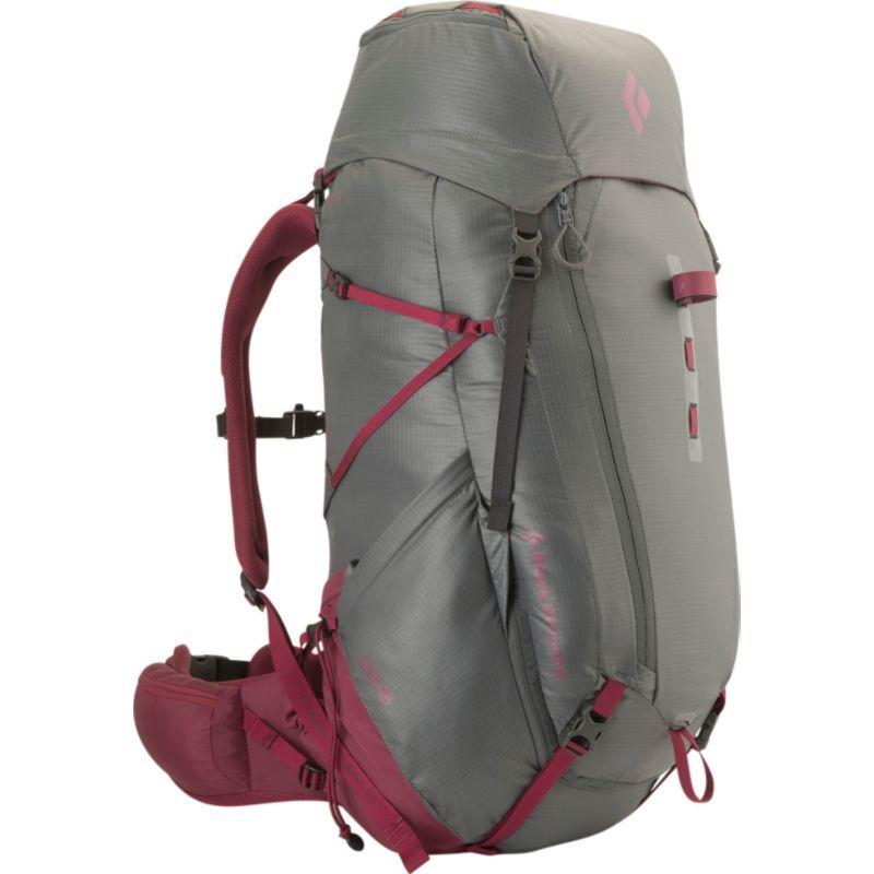 ブラックダイヤモンド レディース バックパック・リュックサック バッグ Women's Elixir 45 Hiking Pack Titanium Berry - Small