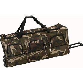 ロックランド メンズ スーツケース バッグ Voyage 4 40 Rolling Duffel Camouflage Green