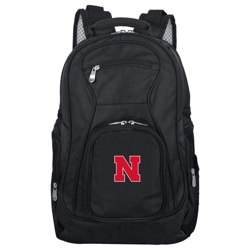 デンコスポーツ メンズ バックパック・リュックサック バッグ NCAA 19 Laptop Backpack University of NebraskaLincoln Cornhuskers