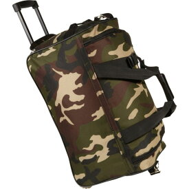 ロックランド メンズ スーツケース バッグ 22 Rolling Duffle Bag Camouflage Green
