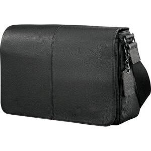 サムソナイト メンズ スーツケース バッグ Mens Leather Classic Messenger Black